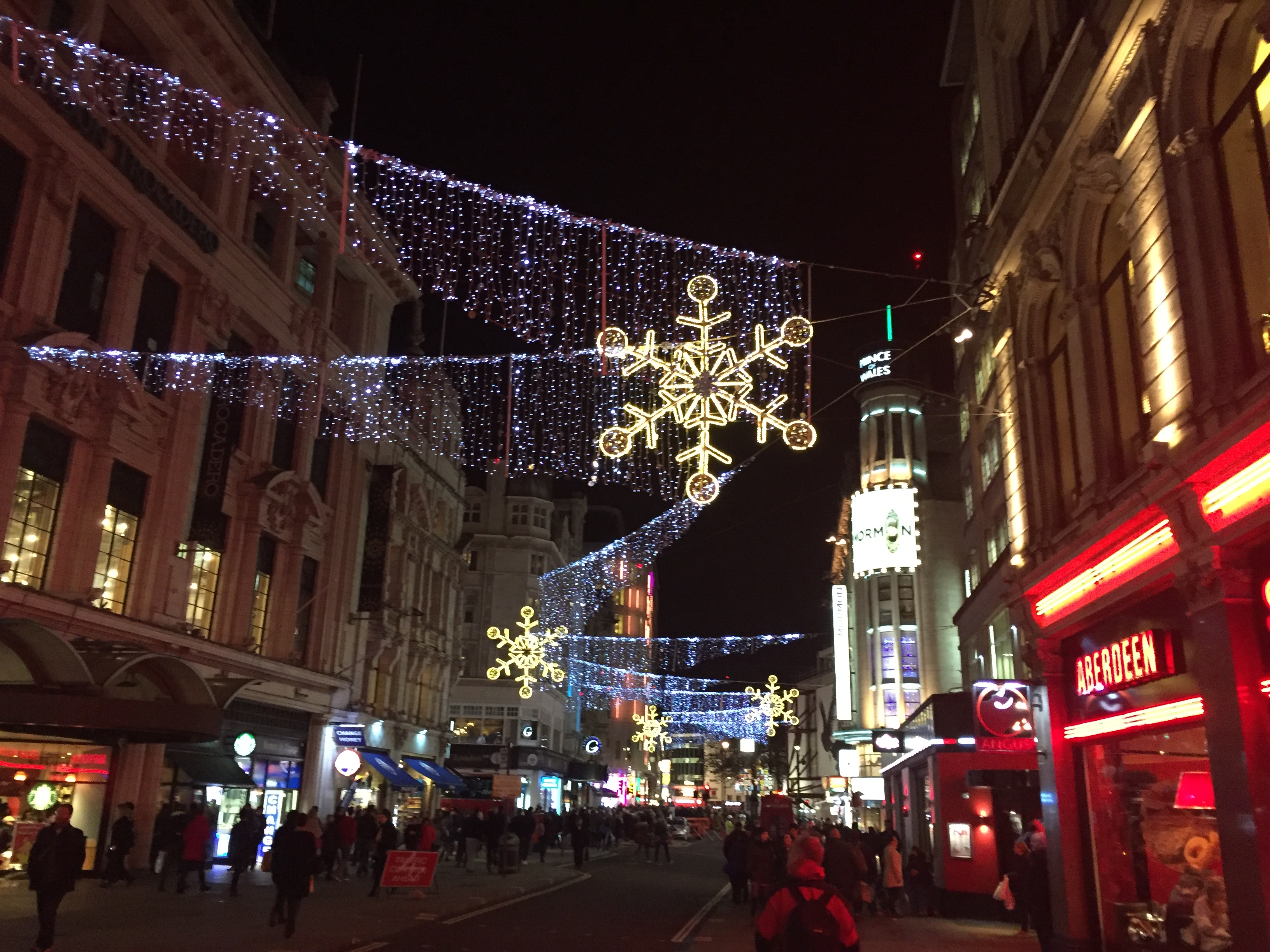 christmas lights grace the streets of london the city comes alive during the holiday season
