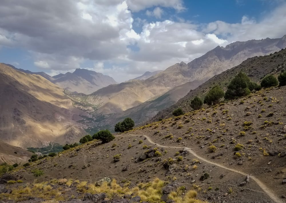 Discovering the Atlas Mountains in Morocco at Kasbah du Toubkal - Casual Travelist