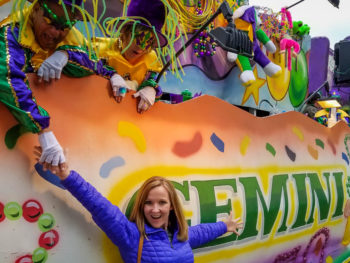 Celebrating Mardi Gras in Shreveport, Louisiana www.casualtravelist.com